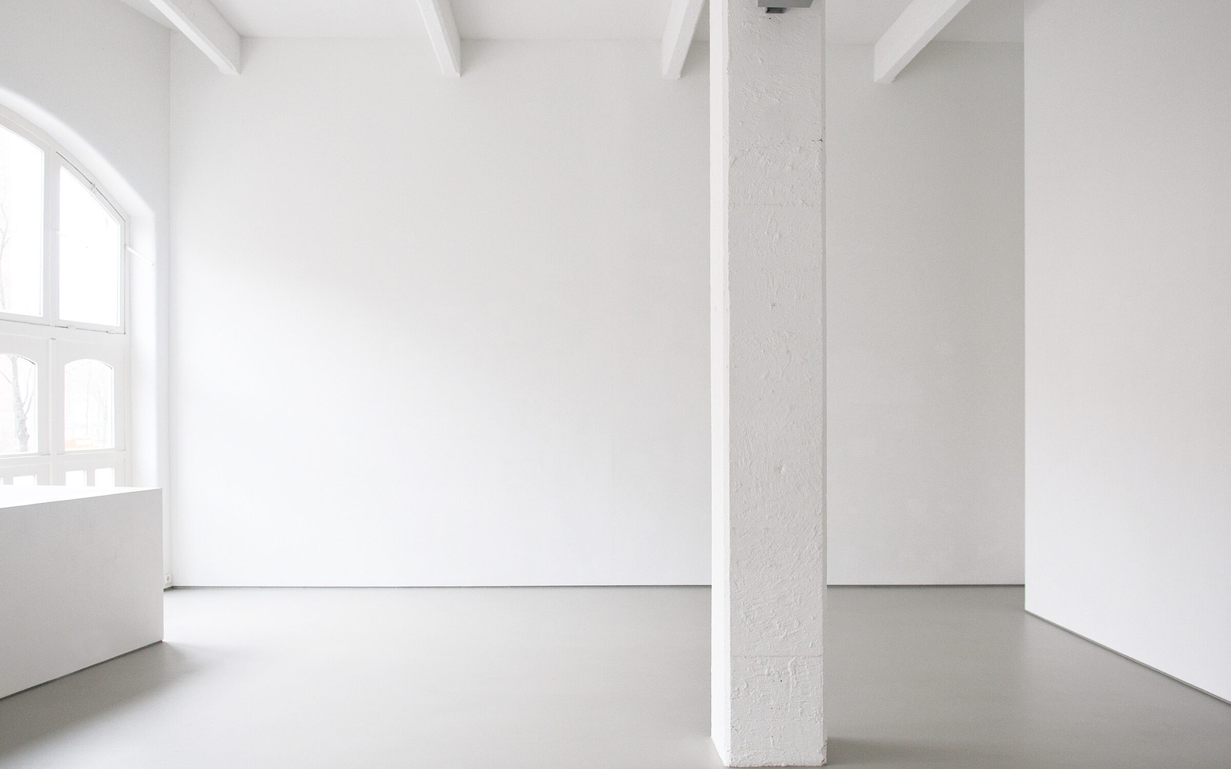 Galerie leeg