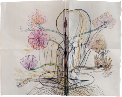 Life - folded inwards